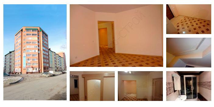 Ремонт однокомнатной квартиры Макаренко 52 (39,8 кв. м.)