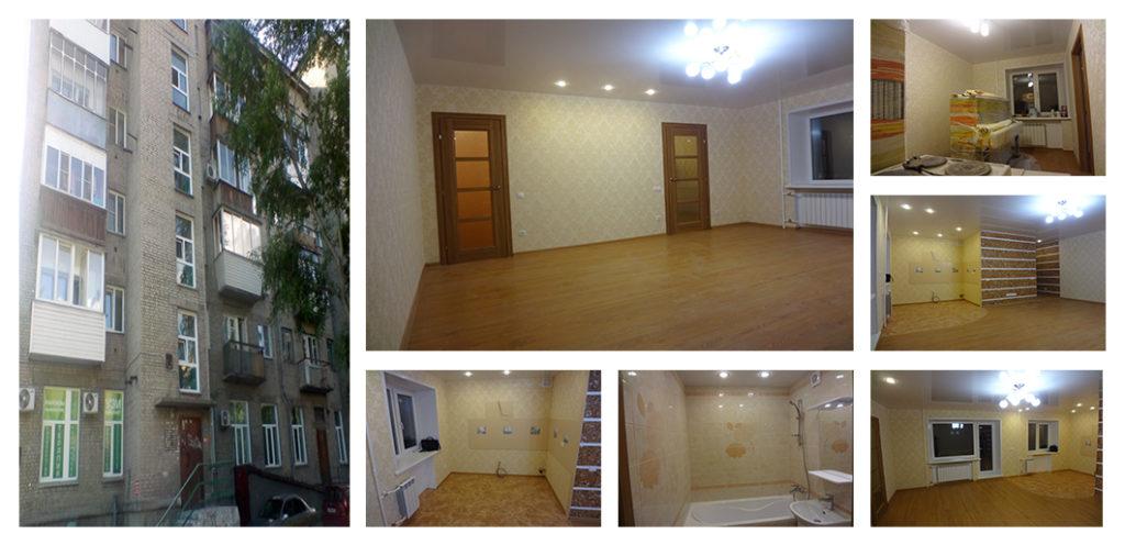 Ремонт двухкомнатной квартиры Проспект Димитрова 18 (42,2 кв. м)