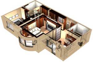 Дизайн квартир в Новосибирске
